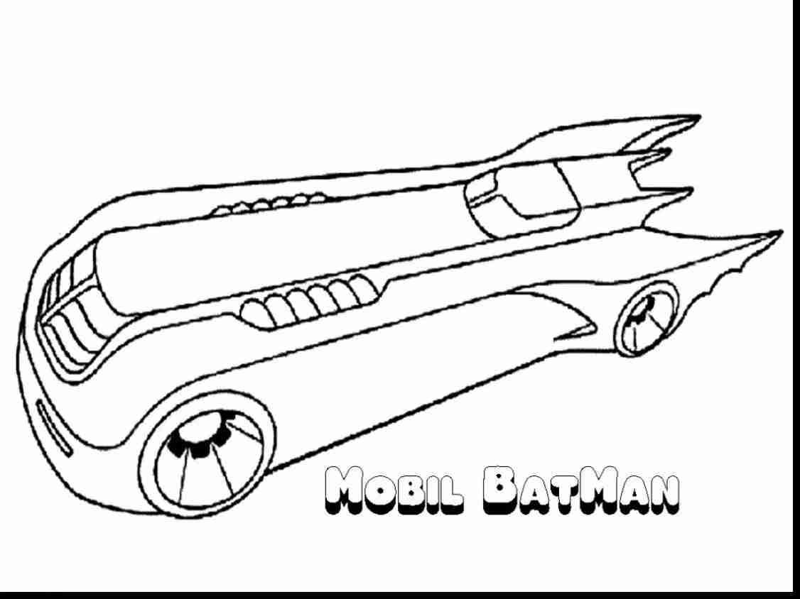 Batman Car Coloring Pages At Getdrawings Com Free For Personal Use