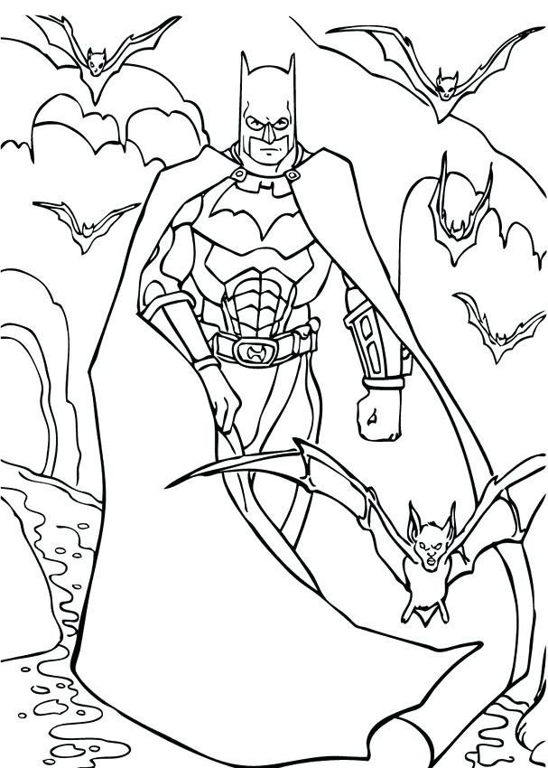 607x850 Batman Christmas Colouring Pages Coloring Kids Crafts