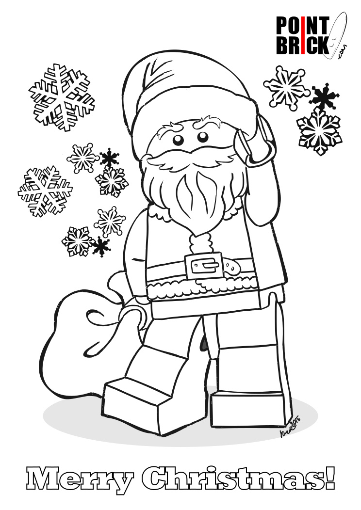 744x1052 Lego Christmas Coloring Sheets Holiday Coloring Pages Coloring