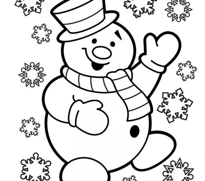 678x600 Santa Coloring Pages Pdf Coloring Pages