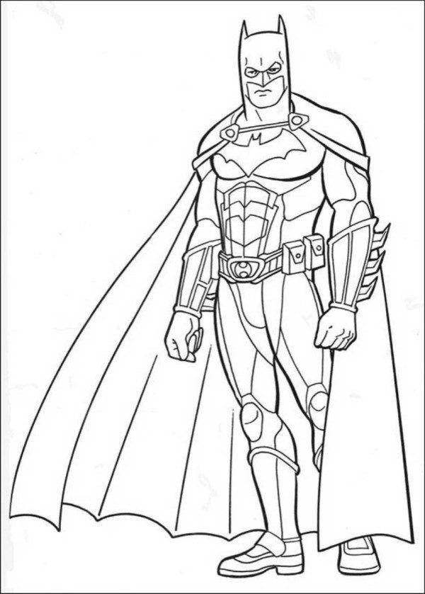 600x839 Batman Dark Knight Rises Coloring Pages