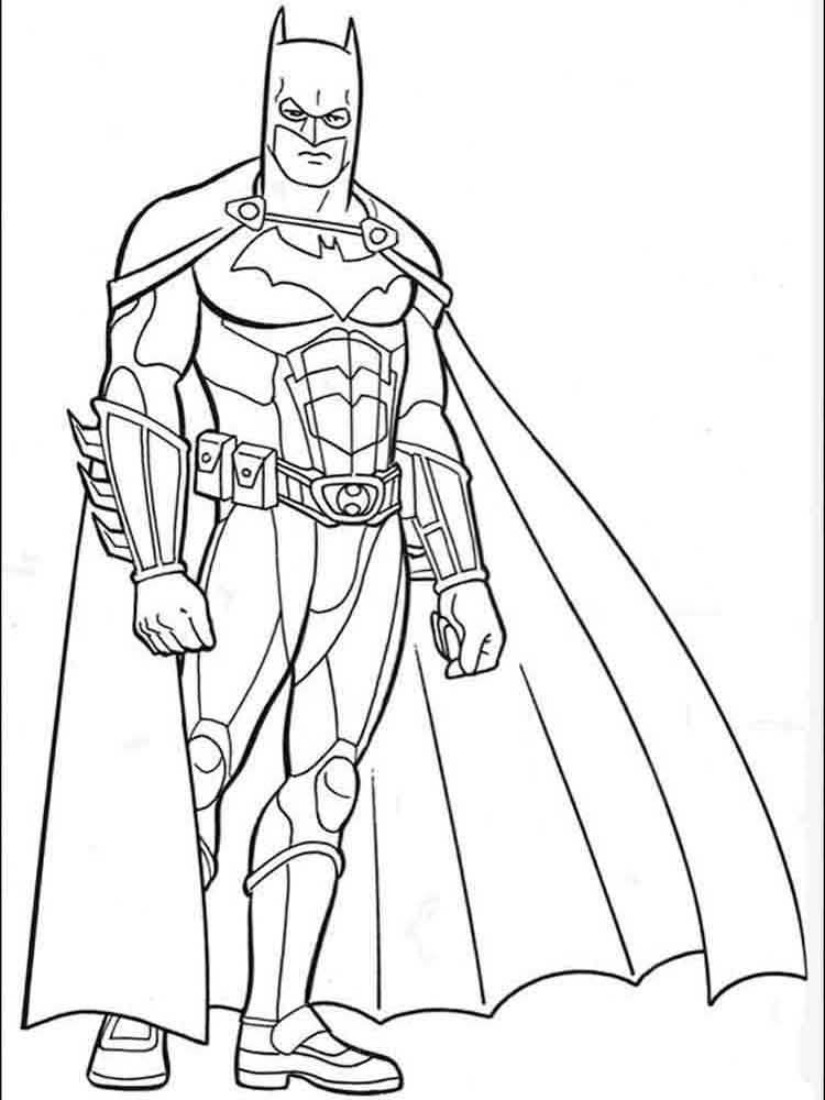 750x1000 Batman Coloring Pages Download And Print Batman Coloring Pages