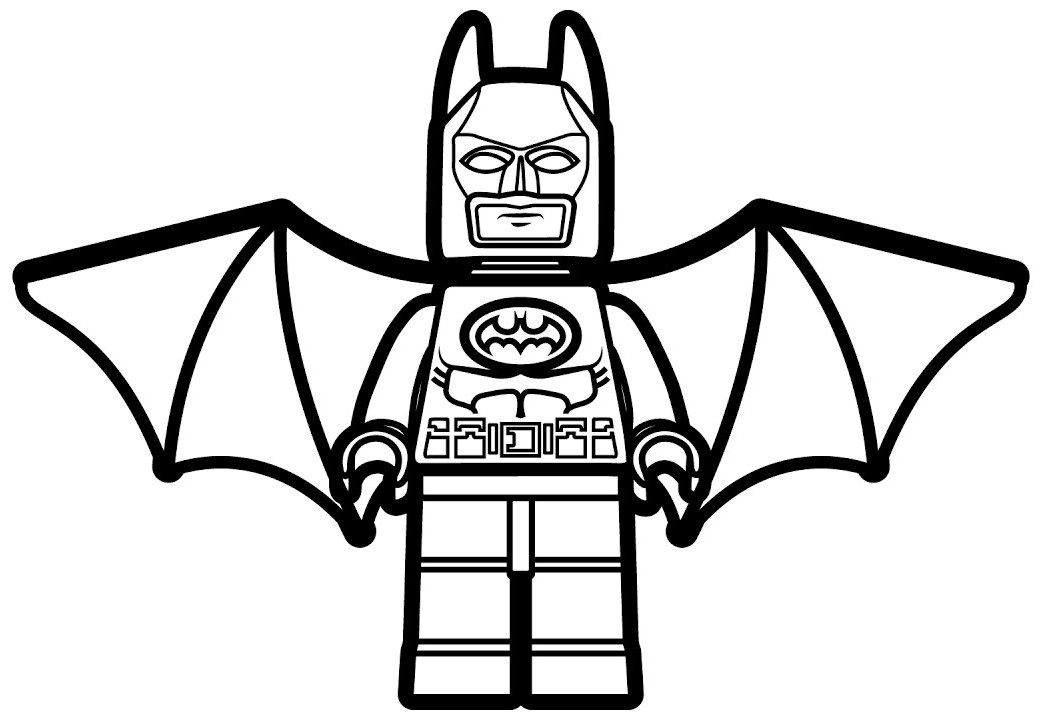 1044x720 Lego Batman Coloring Pages Colorings' World