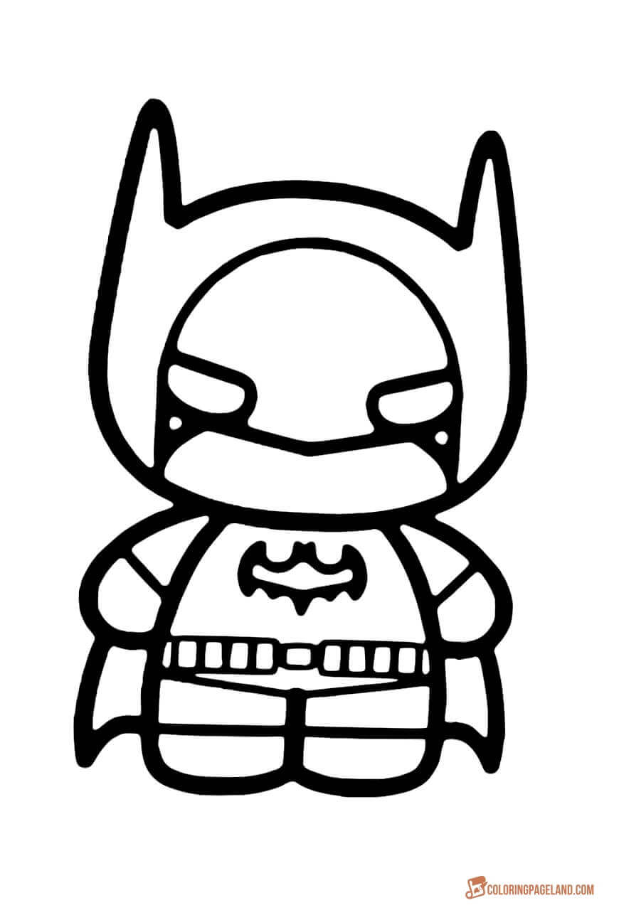 870x1280 Top Batman Printable Coloring Pages For Kids And Adults