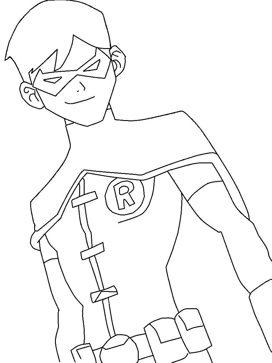 900x1200 Batman And Robin Coloring Page Batman Coloring Pages