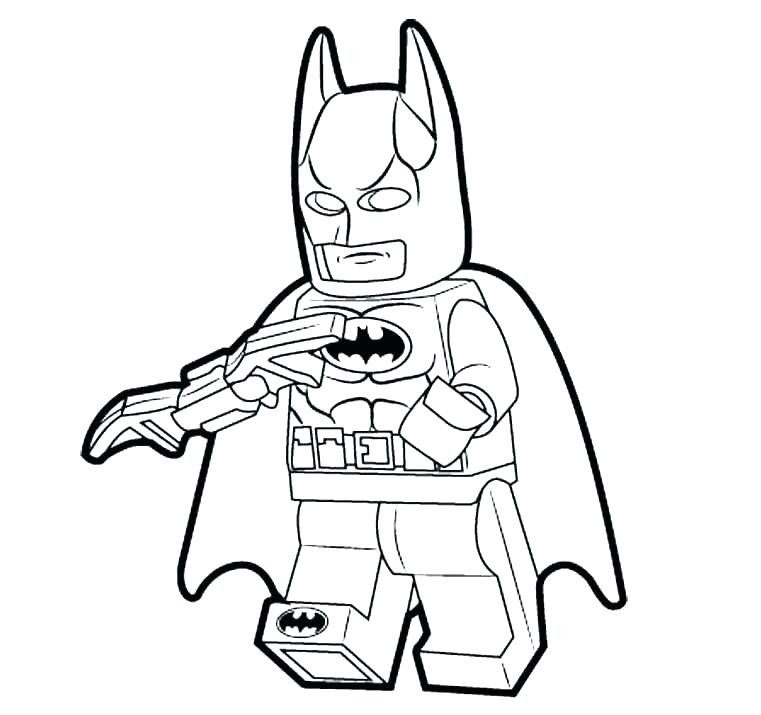 Batman Coloring Pages For Adults