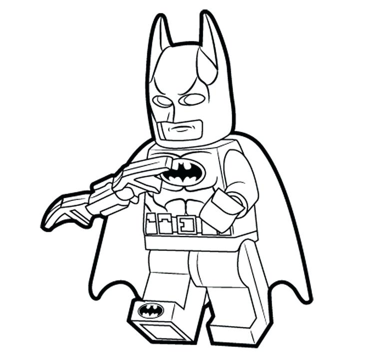 761x715 Lego Coloring Page Marvel With Coloring Pages Lego City Police