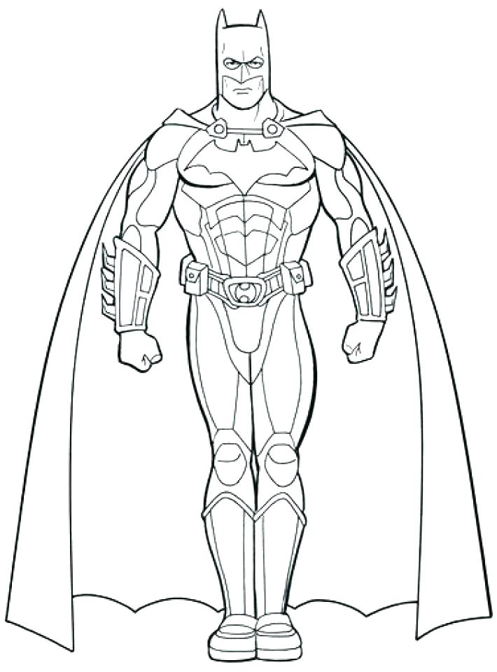 Batman Coloring Pages Online At Getdrawings Free Download