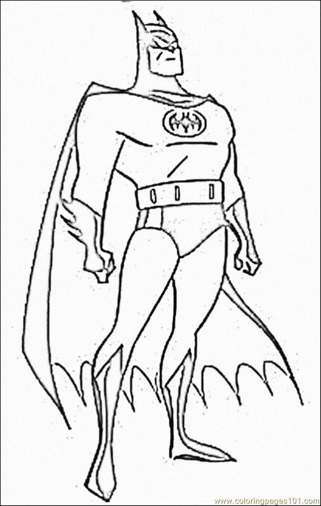 Batman Coloring Pages Online at GetDrawings.com   Free for personal ...