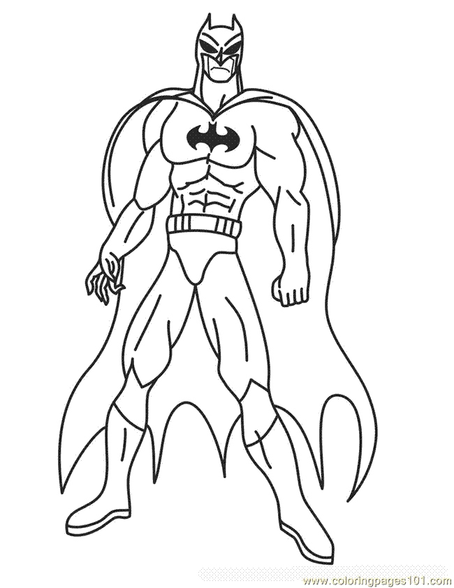 Batman Coloring Pages Pdf At Getdrawings Com Free For