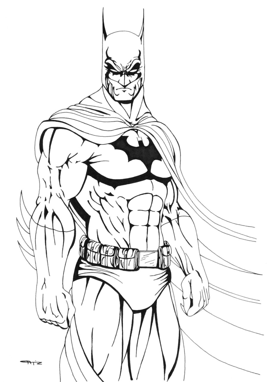 900x1282 Batman Coloring Pages