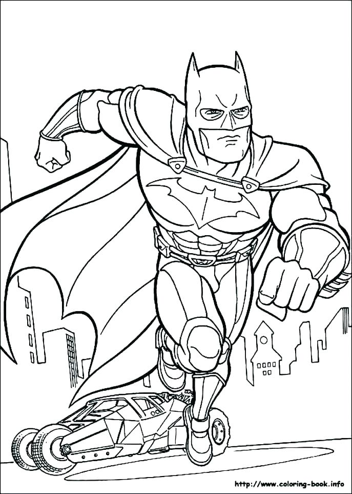 687x962 Batman Coloring Pages To Color Cartoon Coloring Pages Batman