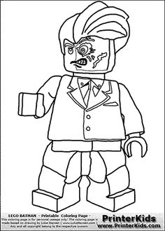 236x330 Lego Batman Coloring Page