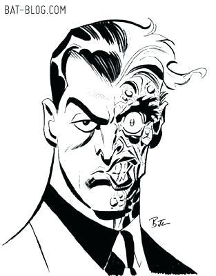 313x400 Batman Face Coloring Page Deepart