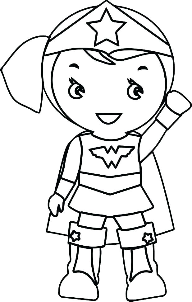 618x970 Girl Face Coloring Pages