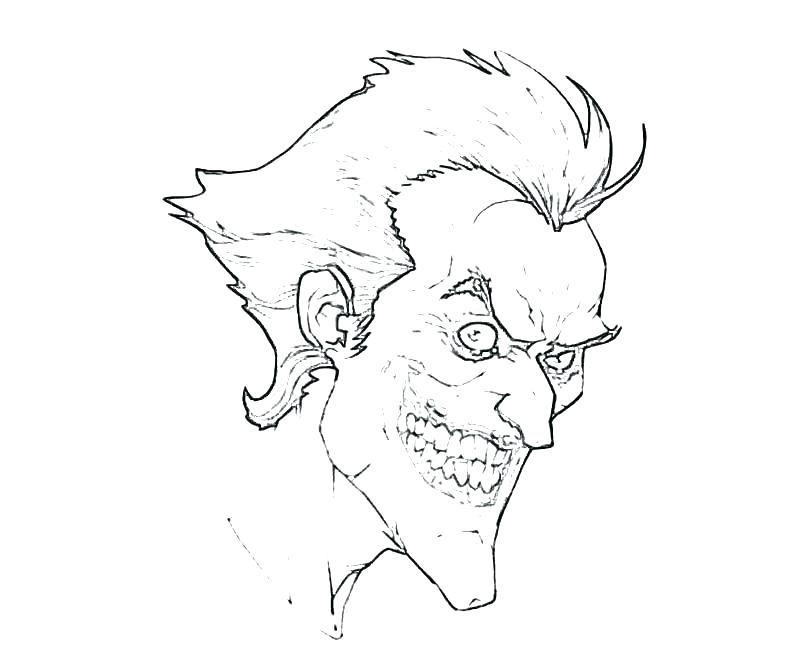 800x667 Batman Joker Coloring Pages Joker Coloring Pages Batman Joker