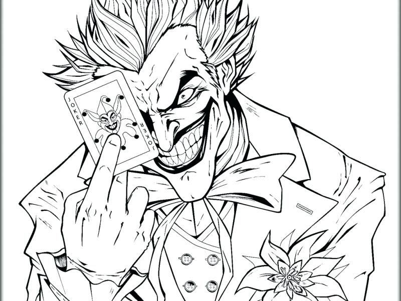 800x600 Coloring Pages For Adults Animals Lofty Idea Joker Color Ideas