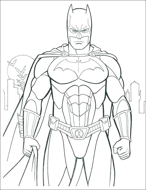 Batman Joker Coloring Pages At Getdrawings Com Free For Personal