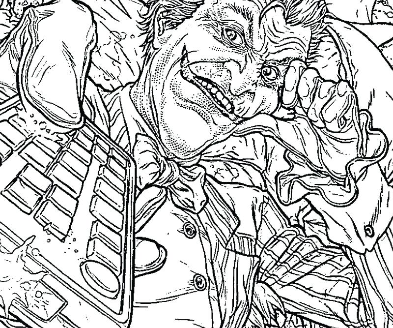 800x667 The Joker Coloring Pages Pics Of Joker Asylum Coloring Pages