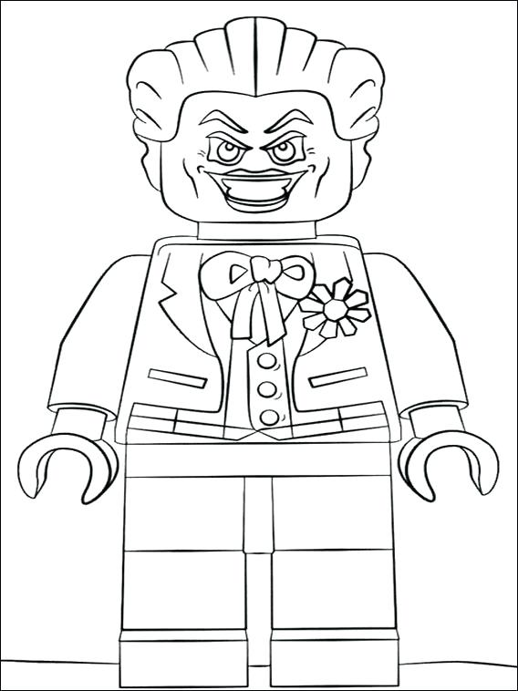 568x758 Batman And Joker Coloring Pages