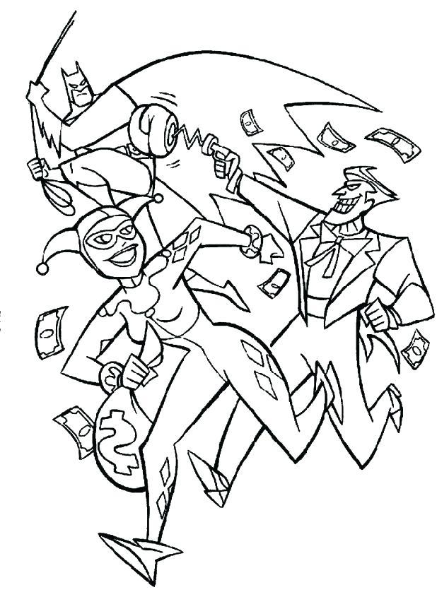 618x845 Batman And Joker Coloring Pages Batman Joker Coloring Pages Free