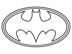Kleurplaten Batman Logo.The Best Free Emblem Coloring Page Images Download From 41 Free