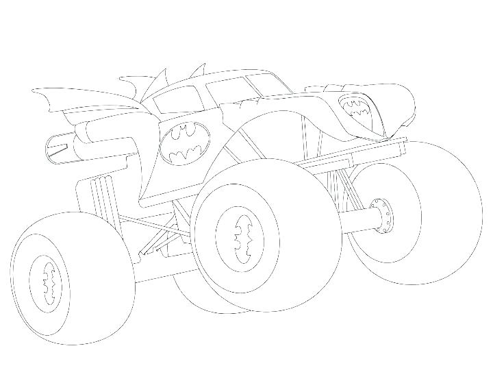 720x556 Free Printable Monster Truck Coloring Pages Monster Truck Coloring
