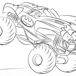 268x268 Iron Man Monster Truck Coloring Page Archives