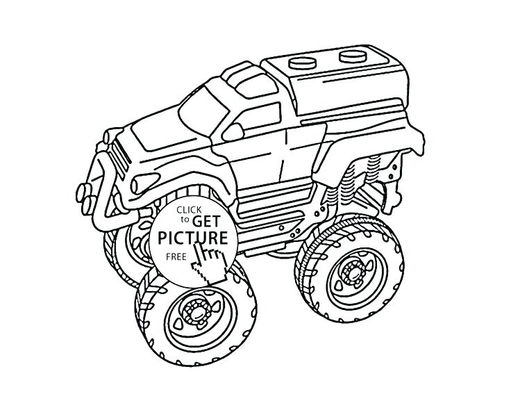 736x577 Monster Truck Coloring Picture Also Batman Monster Truck Coloring