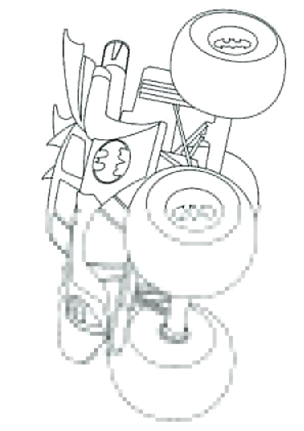 595x842 Monster Trucks Coloring Pages Plus Batman Monster Truck Coloring