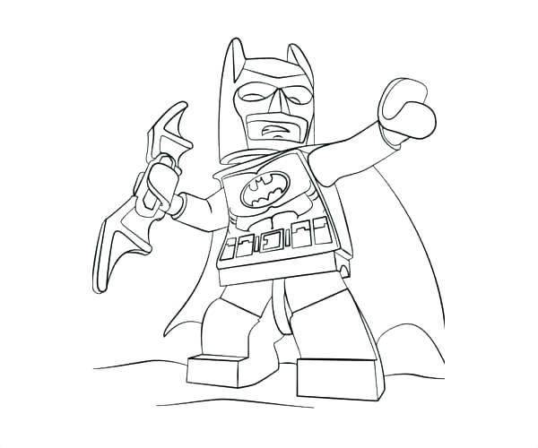600x500 Lego Batman Coloring Page Batman Coloring Page Online Batman
