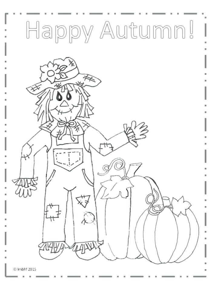 720x960 Scarecrow Coloring Pages Happy Autumn Scarecrow Coloring Page Lego