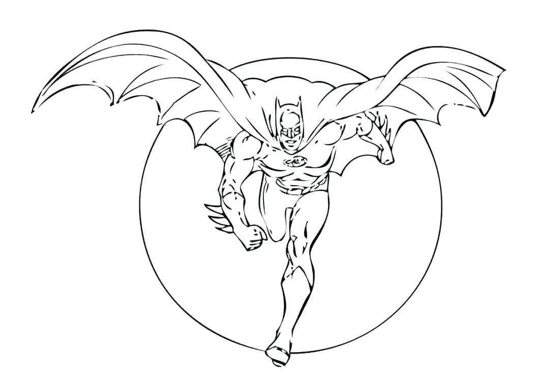 1048x743 Batman Beyond Coloring Pages