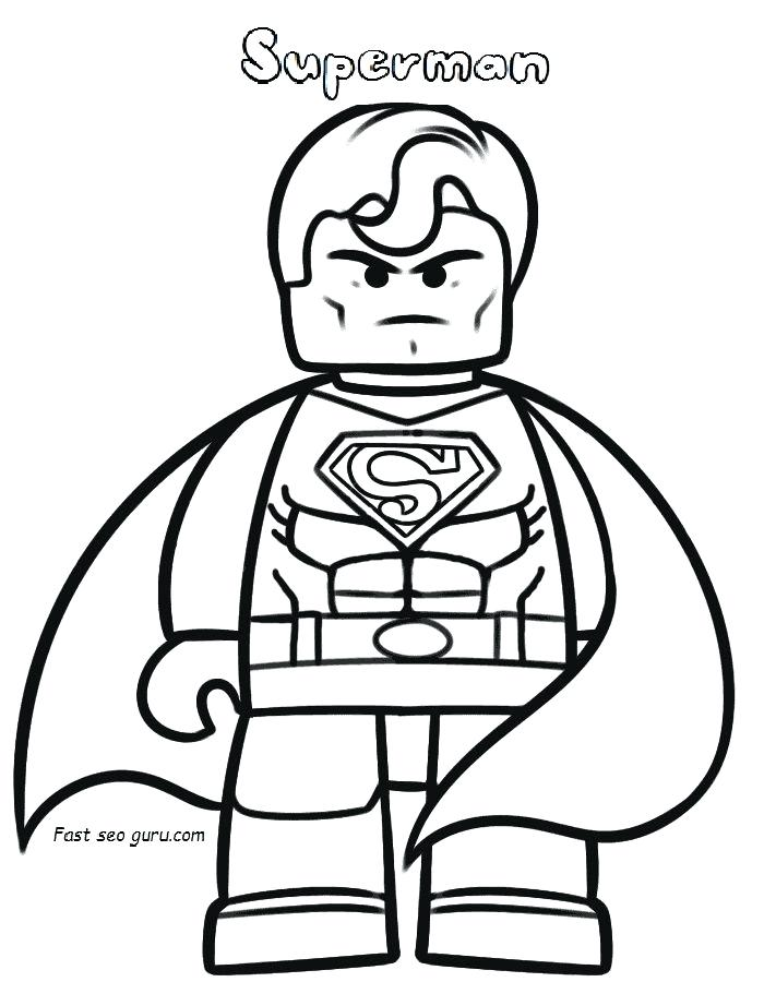 700x922 Lego Superman Coloring Pages Superman Coloring Pages Superman Logo