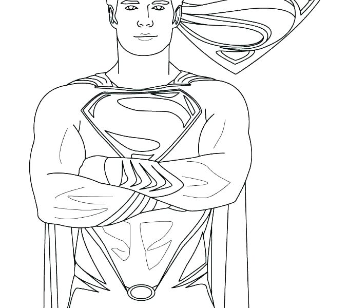 678x600 Batman And Superman Coloring Pages Superman Coloring Page Superman