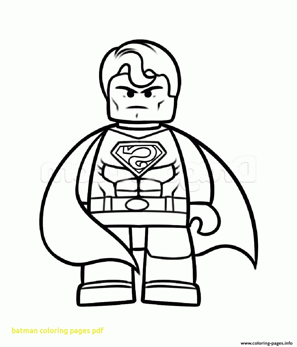 Batman Superman Coloring Pages At Getdrawings Com Free For