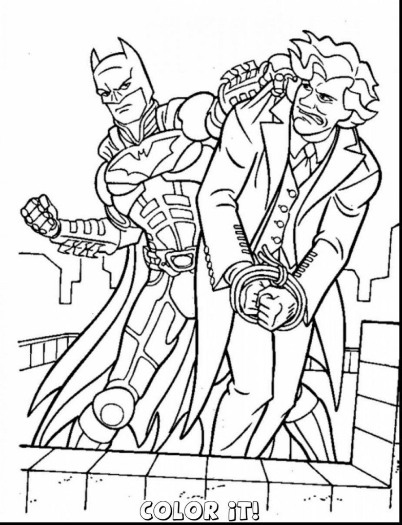 784x1024 Batman Symbol Coloring Page