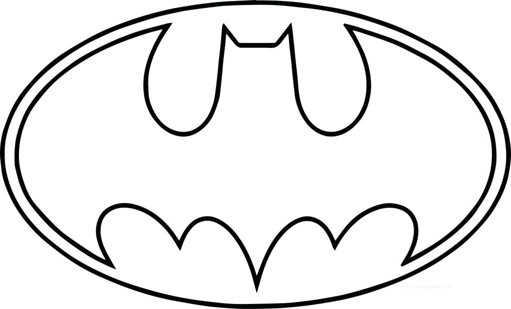 1024x620 Batman Symbol Coloring Pages Batman Symbol Outline Batman Vs