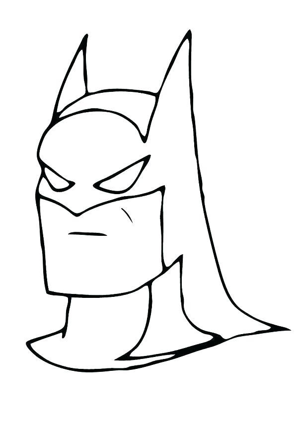 602x850 Coloring Pages Of Batman Batman Batman Coloring Pages Online