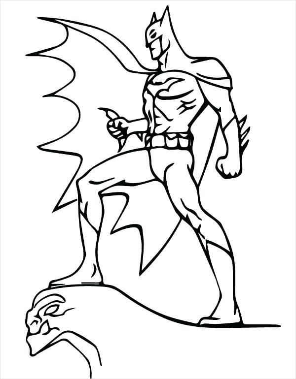 600x770 Batman Logo Coloring Pages Batman Cartoon Coloring Page Batman