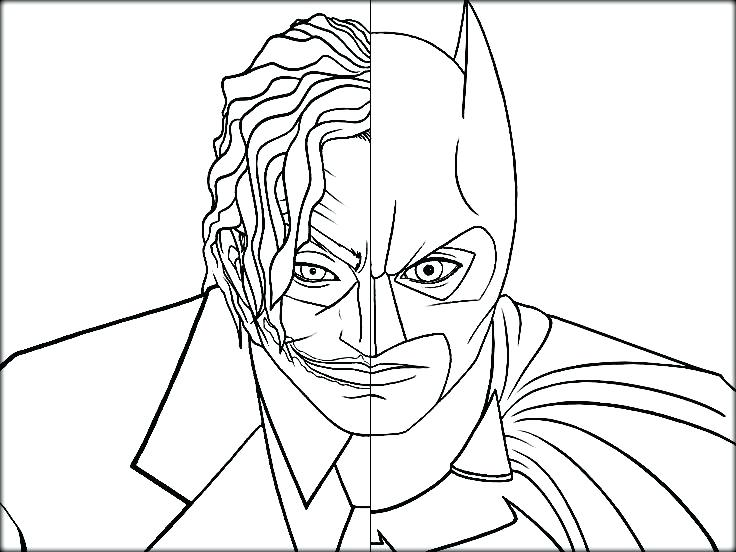 736x552 Joker Coloring Pages Printable Batman Beyond Coloring Pages Batman