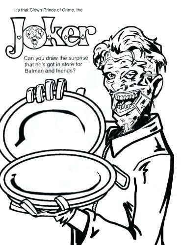 375x500 The Joker Coloring Pages Medium Size Of Joker Coloring Pages