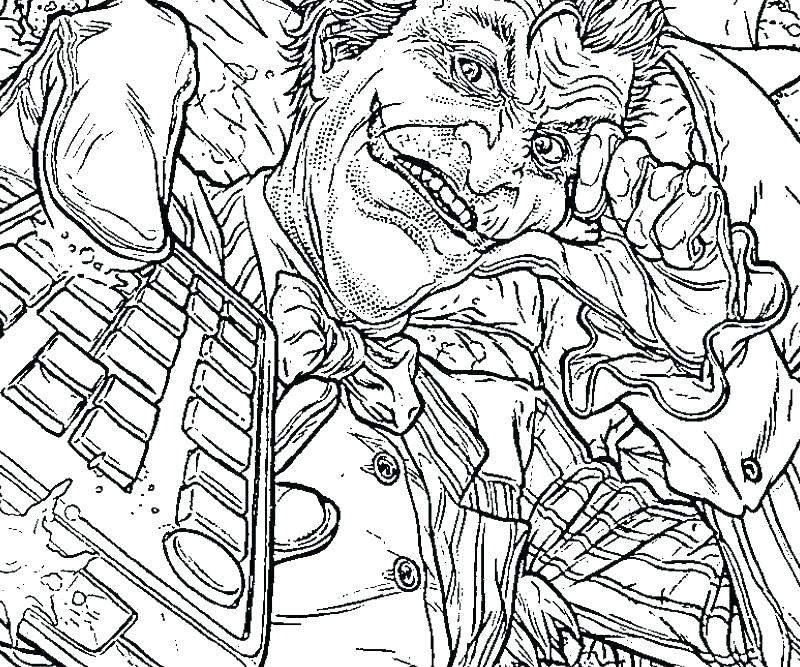 800x667 Batman And Joker Coloring Pages