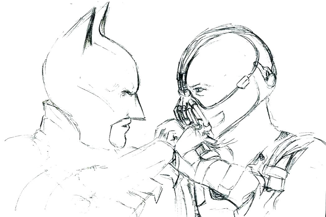1048x698 Batman And Joker Coloring Pages