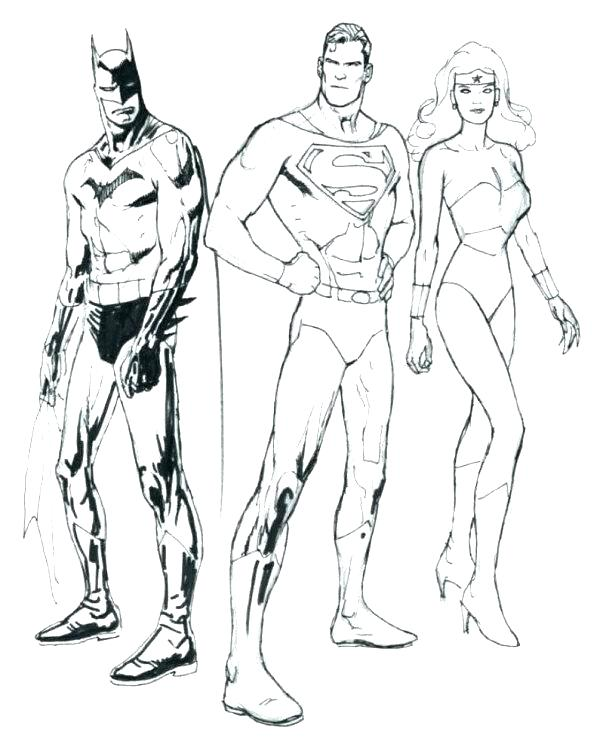 picture relating to Batman Vs Superman Coloring Pages Printable called Batman Vs Superman Coloring Web pages at  Totally free