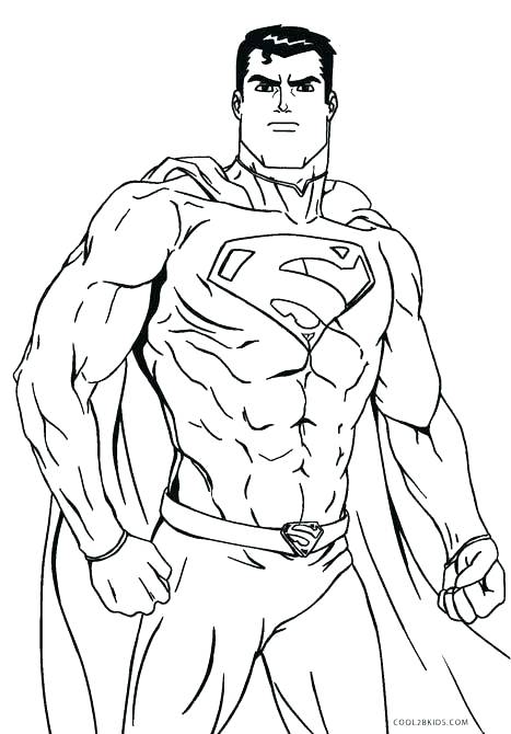 467x670 Superman Coloring Pages Superman Logo Coloring Page Superman