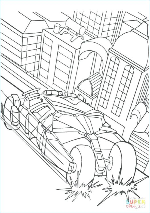 Batmobile Coloring Pages At Getdrawings Com Free For Personal Use