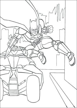 300x420 Batmobile Coloring Pages Batman Coloring Page Batman Batmobile