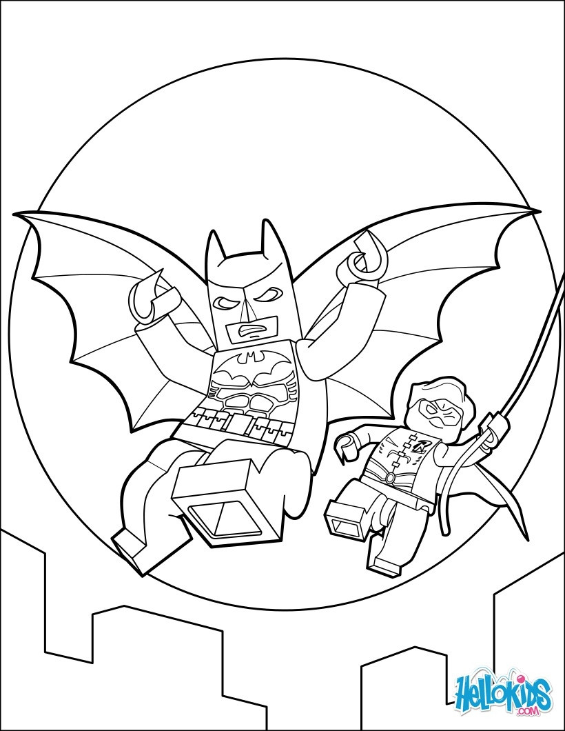 820x1060 Batmobile Coloring Pages Coloriages Lego Batman Fr Hellokids