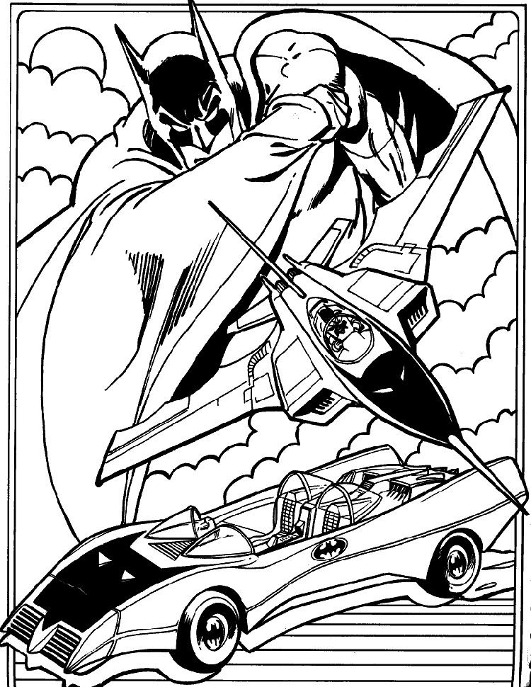 750x970 Batman Coloring Pages Batman And Characters